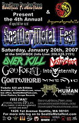 poster January 20, Seattle Metal Fest