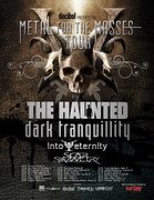poster The Haunted/Dark Tranquillity tour