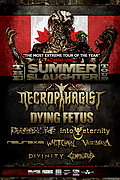 poster Summer Slaughter Canada